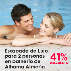Emociom, Almería. Escapada de Lujo para 2 personas en balnerio de Alhama de Almería
