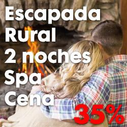 Escapada Rural a la Alpujarra para 2 Personas: 2 noches + 2 circuitos de SPA + Cena para 2