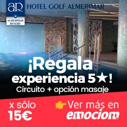 Emociom, Almerimar. Spa con opción a Masaje con Aromaterapia en Hotel Golf Almerimar 5*