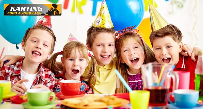 fiesta de cumpleaos infantil para nios por uac comida tarta chuches