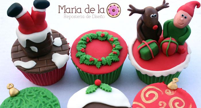 Curso de Galletas o Cupcakes Decoradas, para sorprender en Halloween, Navidad, Cumpleaños...