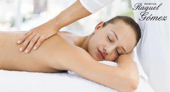 Disfruta o regala: Un Masaje relajante o masaje más peeling corporal desde sólo 9€
