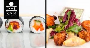 ¿Qué comemos estas Navidades? ¡Pues pedacitos del MUNDO! 28 o 56 canapés o Bandeja Maki Sushi
