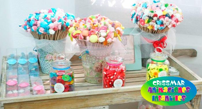 Pin dulces momentos mesa ambientacion renta centros for Mesas dulces cumpleanos
