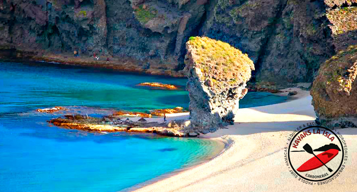 ¡Ruta en Kayak por el P. Natural de 3h + picnic + Report. fotográfico! Aguamarga, cala arena..