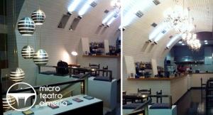 Arriba el telón!!!! 4 cañas o tintos + 4 tapas + 1 entrada al teatro en el Microteatro Almería