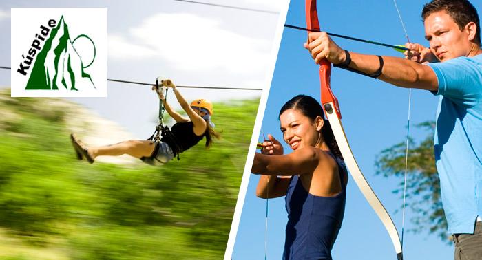 Jornada Multiaventura con actividades a elegir, ¡pura emoción!