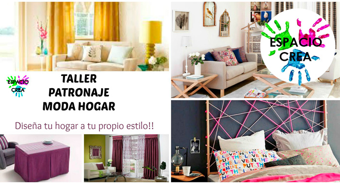Emociom granada 1 mes de taller de patronaje moda hogar - Disena tu hogar ...