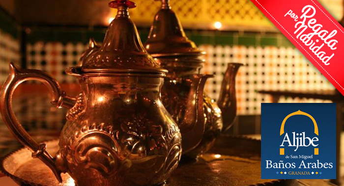 Baños Arabes Granada Ofertas:Relájate y disfruta con una sesión de Baños Árabes + Masaje + Té