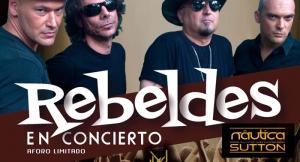 Entrada para el concierto de Los Rebeldes en Naútica The sutton con opción de copa o cervezas