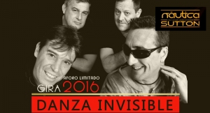 Entrada para concierto de Danza Invisible en Naútica The sutton con opción de copa o cervezas