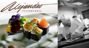 Menú Degustación de 10 platos Estrella Michelin para 2 personas, en Restaurante Alejandro.