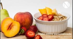 De 1 a 12 meses de Dieta online personalizada + Manual seguimiento + Asesor. ¡Ya no hay excusa!