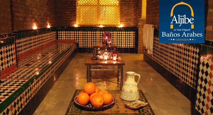 Baños Arabes Ofertas:Relájate y disfruta con una sesión de Baños Árabes + Masaje + Té
