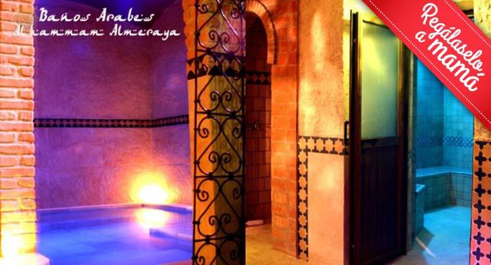 Baño Arabe En Almeria:Regala: Circuito de Baños Árabes, Baño Turco, Aromaterapia, y Té o