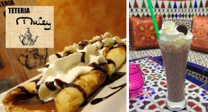 2 Batidos o Té para 2 + 2 Crepes o Gofres de chocolate, dulce de leche o mermelada desde 3,90€.