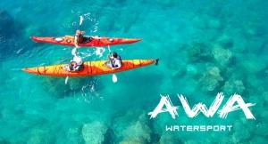 Alquiler Kayak + snorkel para 2 personas 1.5h sólo 13.20€ Navega por nuestra costa!!!
