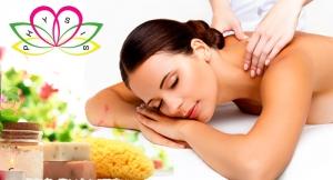 Disfruta del auténtico relax: Masaje relajante, descontracturante o con piedras calientes.