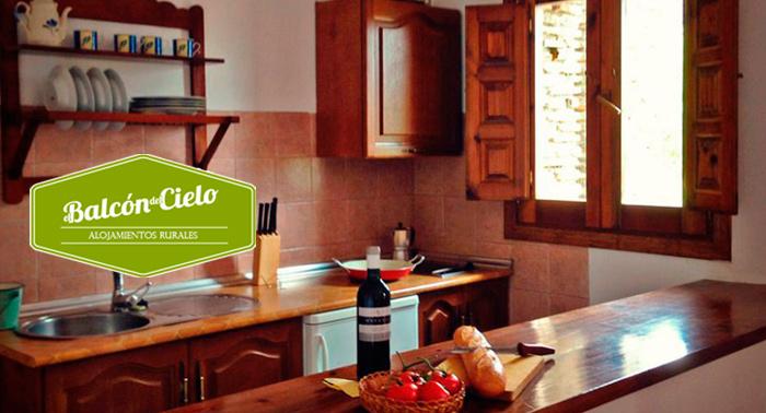 La Alpujarra: 2 Noches en Apartamentos Rurales para 2, 4 ó 6 personas con detalle de bienvenida