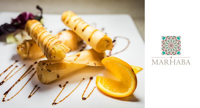 ¡Plan Delicioso! Menú Degustación Árabe-Mediterráneo para dos personas.