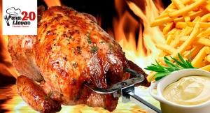 ¡¡Plazano para llevar!! Delicioso Pollo Asado + Patatas + Alioli