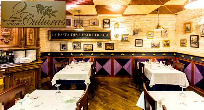 ¡Disfruta del Menú Diario del Restaurante 2 Culturas a un precio increíble!