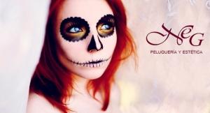 ¡Un plan de miedo! Maquillaje profesional para Halloween con opción a Peinado