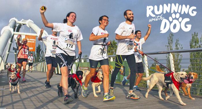 ¡Vive la 1ª Carrera Running With Dog y recorre sus 5km con tu peludo amigo!