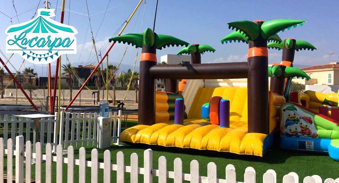 ¡Un día de diversión inolvidable para tus peques en La Carpa! Acceso de 1 día completo