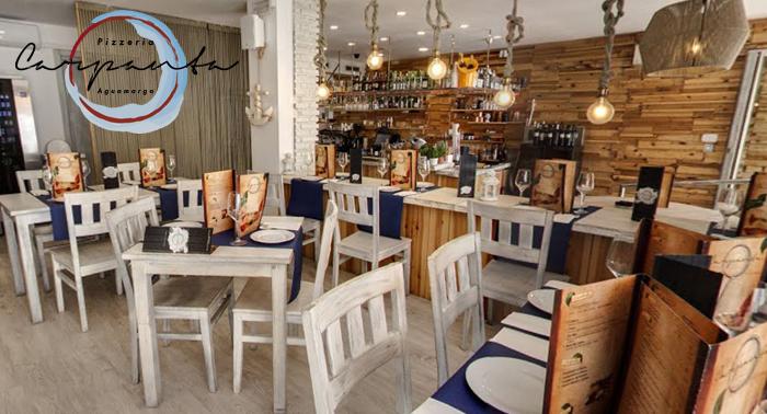 ¡Planazo en Aguamarga! Menú Italiano para 2 + Postre especial en Restaurante Carpanta