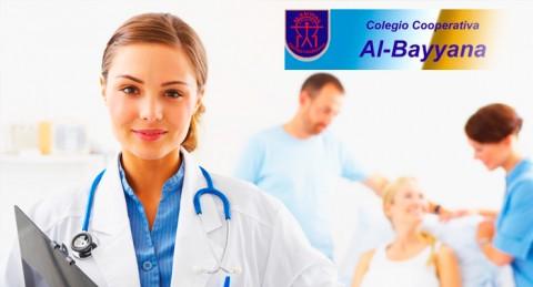 Ciclo Formativo en Auxiliar Enfermería, Atención a Personas Dependientes o Educación Infantil.