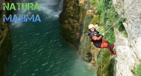 ¡¡ Experimenta el barranco !! Barranquismo en el río Verde, río Lentegí o Paterna.