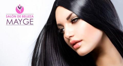 Sesión completa de peluquería: Peinado + Corte + Tinte + Mascarilla de Keratina