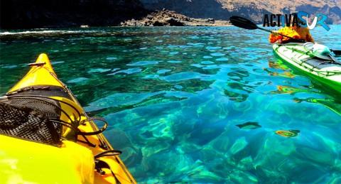 Ruta en kayak + Snorkel por la Costa de la Herradura ¡¡Disfruta un increíble paseo por el mar!!