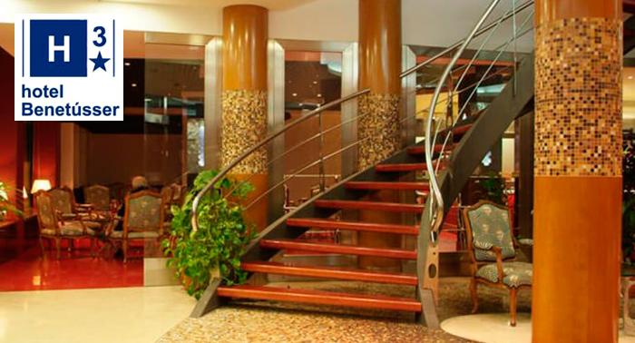 Magnífica Escapada:  Alojamiento + Desayuno Buffet en Hotel Benetusser en Valencia
