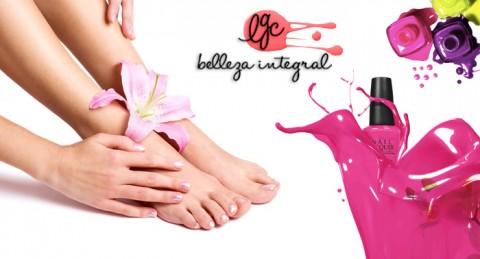 Manicura y/o Pedicura con Esmaltado Permanente ¡Cuida tus pies y manos como nunca!