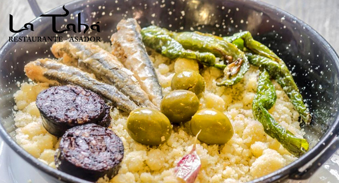 Visita La Alpujarra: Migas alpujarreñas ó vegetarianas + Plato típico + 2 bebidas