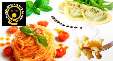 Menú Degustación Italiano: 2 bebidas + 8 tapas italianas + 1 postre sólo 14€, Para 2 personas