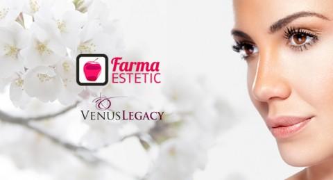 Rejuvenece tu rostro gracias a Venus Legacy Push & Blush en Farma Estetic