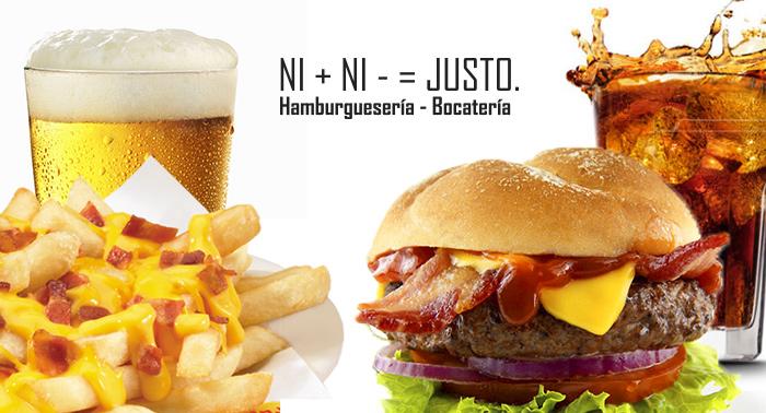 Para 2: 2 Bebidas + 2 Hamburguesas o bocadillos completos + Ración patatas Cheese & Bacon