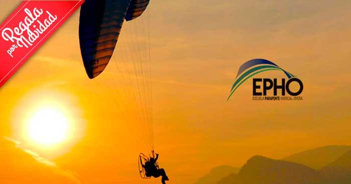 Regala un increíble viaje por el cielo: Vuelo en Paramotor con monitor en Mojácar