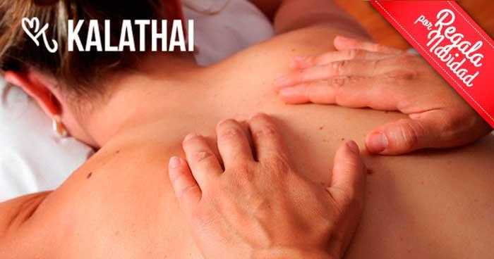 ¡¡Déjate mimar esta Navidad!! Disfruta de un fantástico masaje relajante por sólo 24€