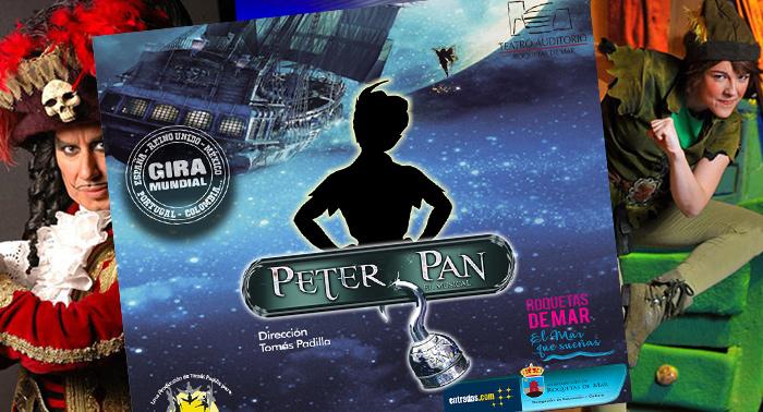 ¡Diversión en familia! No te pierdas Peter Pan, el Musical
