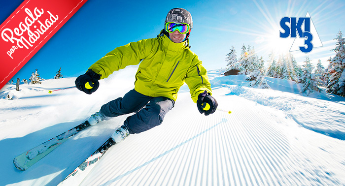 ¿Ski o Snow? Alquiler de Equipo todo el día + Opción a Curso de Iniciación en Sierra Nevada