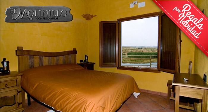 Cabaña Rural con Encanto: 2 Noches Alojamiento + Cena: Tapas + cañas + Ración para hasta 4 pax