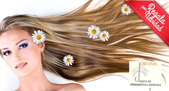 Esta Navidad tu pelo más sano: Tratamiento orgánico y esencias naturales + masaje craneal