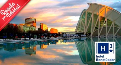Escapada navideña a Valencia: Alojamiento + Desayuno Buffet en Hotel Benetusser