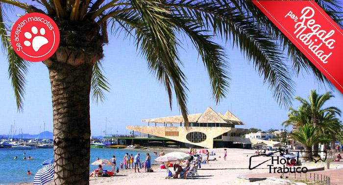 Escapada para 2 personas al Mar Menor + Media Pensión en Hotel Trabuco