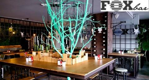 El plan más esperado en Roquetas de Mar: 4 bebidas + 4 tapas en Fox Bar