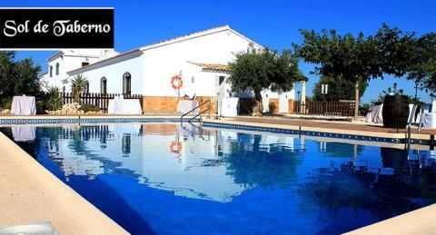 Escapada a Taberno: Alojamiento en cortijo típico andaluz para 2 ó 4 personas